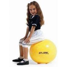 Sittboll - Sit'n gym 45 cm gul
