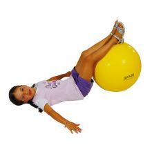 Gymnastikboll 45 cm gul