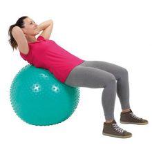 Gymnastikboll med knoppar - 65 cm