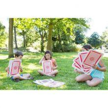 Trädgårdsspel - Spelkort mega