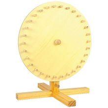 Lyckohjul i trä - diameter 30cm.