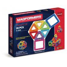 Magformers 26 st. - Trekanter & Fyrkanter