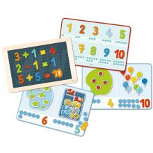 Magnetiskt lekset - Lär dig siffror och mängd