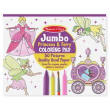 Målarbok Jumbo - Prinsessor och Älvor