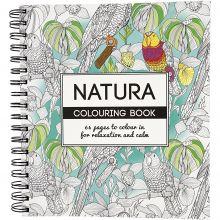Målarbok Mindfullness - Natur, 64 sidor