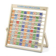 Matematik - Lär dig gånger, ställ i trä