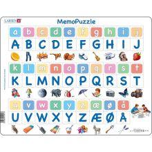 Memo Pussel - Alfabetet