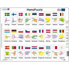 Larsen Pussel - Länder och Flaggor