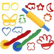 Skulpteringsverktyg och formar, 15 delar
