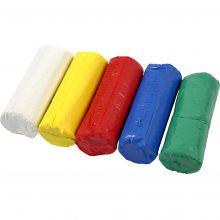 Modellera Soft Clay - Grundfärger, 400 g
