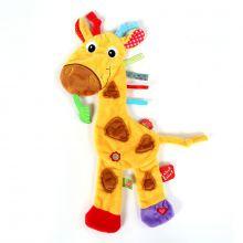Snuttefilt med taggies – Giraff