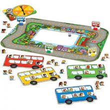 Busshållplats - Räknespel
