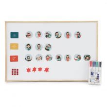 Piktogrampaket DIY, Stor - Flicka