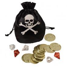 Piratpung med guld och diamanter