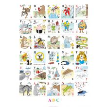 Plakat 50 x 70 cm – ABC