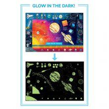 Affisch - Solsystemet (85 x 57 cm)