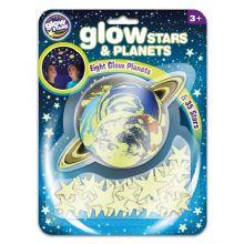 Glow - Planeter + stjärnor, 43 delar