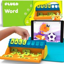 Plugo letters - interaktiva bokstäver (engelska)