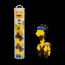 Plus-Plus BIG i rör - Giraff, 15 st.