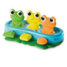 Pop-up - Tre små grodor