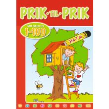Prick-till-Prick-bok 1-100 - Trä
