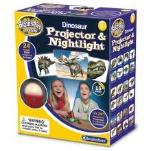 Projektor och nattlampa - Dinosaurie