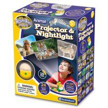 Projektor och nattlampa - Vilda djur