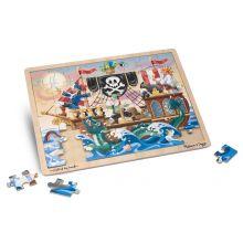 Pussel m. 48 bitar Pirat