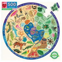 Pussel 500 bitar - Biologisk mångfald