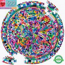 Pussel - Geometriska mönster, 500 bitar