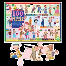 Pussel - Världens barn, 100 bitar