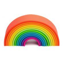 Regnbåge i Silikon - Grundfärger, 12 delar