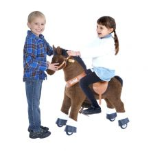 Rid själv - Häst, mörkbrun med vit nos, small