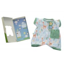 "Rubens Baby tillbehör - Pyjamas ""fickkompis"", grön"