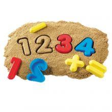 Sandformar - Siffror och tecken, 26 delar