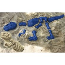 Sandformar - Dinosaurie-skelett, 10 delar