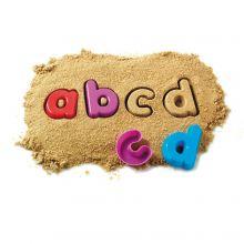 Sandformar - Små bokstäver, 26 delar