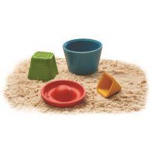 Sandleksaker i miljövänligt trä