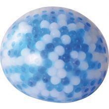 Känselboll med kyleffekt 10 cm diameter - Blå/vit