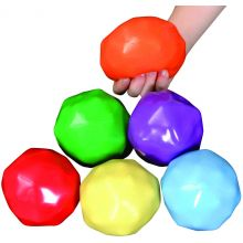 Sensoriska bollar med vikter - 6 st.