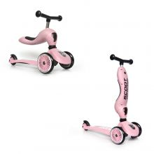 Sparkcykel/Springcykel - Highwaykick 1, Rosa