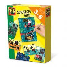 Scratch Art - Djurkonst