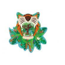 Siluett Pussel m. 59 bitar – Tiger