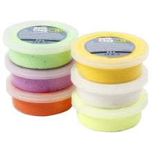 Silk Clay 6 x 14 g - Påskfärger