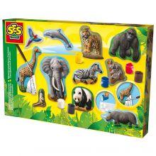 Stöp och måla - Djur