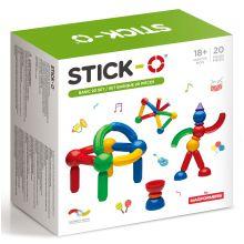 Stick-O - Basuppsättning med 20 delar
