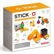 Stick-O - Byggarbetsplats, 26 delar