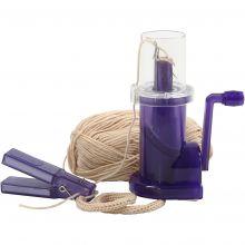 Stickkvarn med handvev