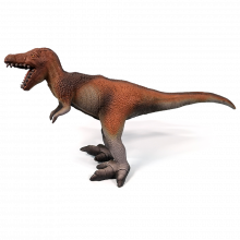 Dinosaurie - T-Rex i naturgummi