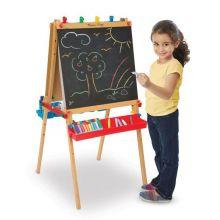 Tavelstaffli 2-sidigt - Tavla, whiteboard & papper